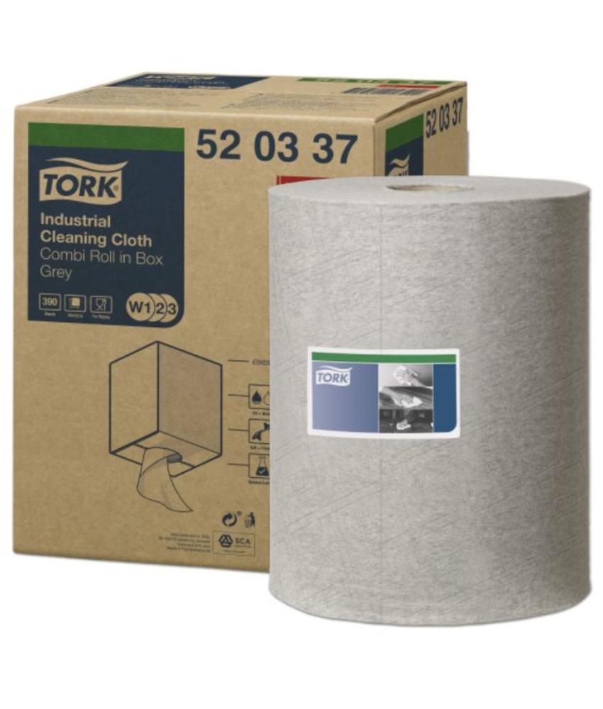 Tork Industrial Reinigingsdoek Grijs W1/W2/W3