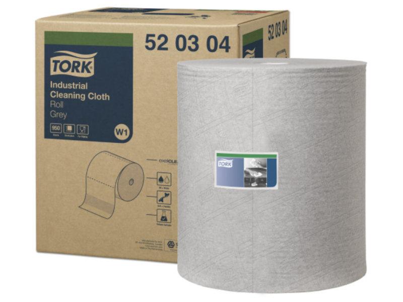 Tork Tork Industrial Reinigingsdoek Grijs W1