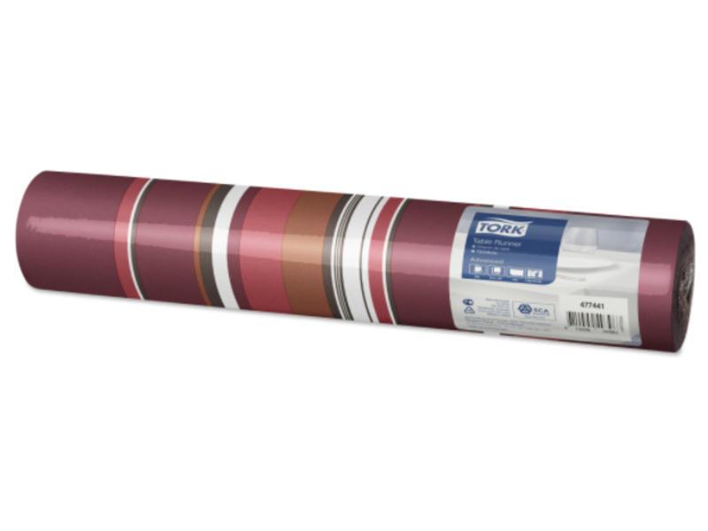Tork Tork textile feel tafelloper Retro Milano 0,4x1,2m x20 4r