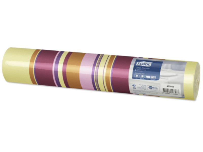 Tork Tork textile feel tafelloper Sweet Milano 0,4x1,2m x20 4r