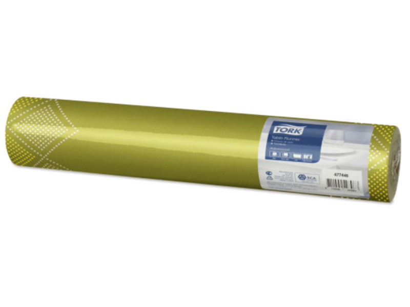 Tork Tork textile feel tafelloper Natural Oxford 0,4x1,2m x20 4r