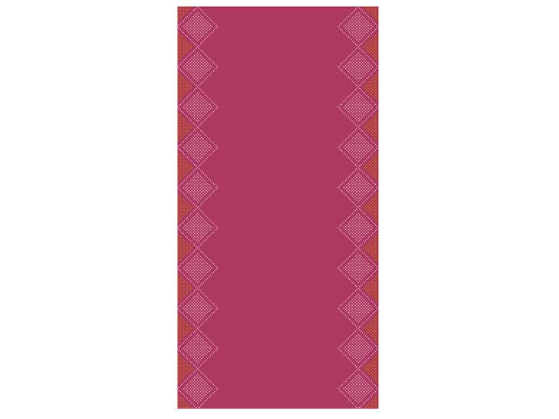 Tork Tork textile feel tafelloper Sweet Oxford 0,4x1,2m x20 4r