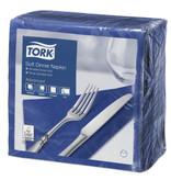 Tork Tork tissue servet 39x39cm 3-laags 1/4-vouw midnight blue 12x100