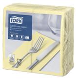 Tork Tork tissue servet 39x39cm 3-laags 1/8-vouw champagne 12x100