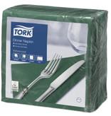 Tork Tork tissue servet 39x39cm 2-laags 1/4-vouw mountain pine green 12x150