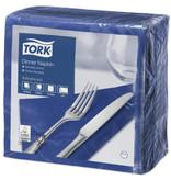 Tork Tork tissue servet 39x39cm 2-laags 1/4-vouw midnight blue 12x150
