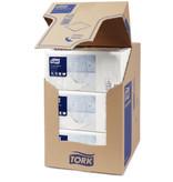 Tork Tork tissue servet 23x23cm 2-laags 1/4-vouw wit 10x300