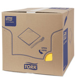 Tork Tork tissue servet 33x33cm 2-laags 1/8-vouw passion yellow 10x200