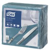 Tork Tork tissue servet 39x39cm 2-laags 1/4-vouw Blue Green 12x150