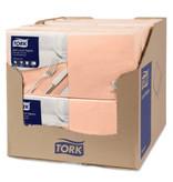 Tork Tork tissue servet 33x33cm 3-laags 1/4-vouw perzik 10x150