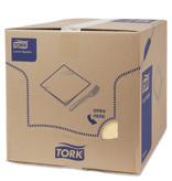 Tork Tork tissue servet 33x33cm 3-laags 1/4-vouw zand 10x150