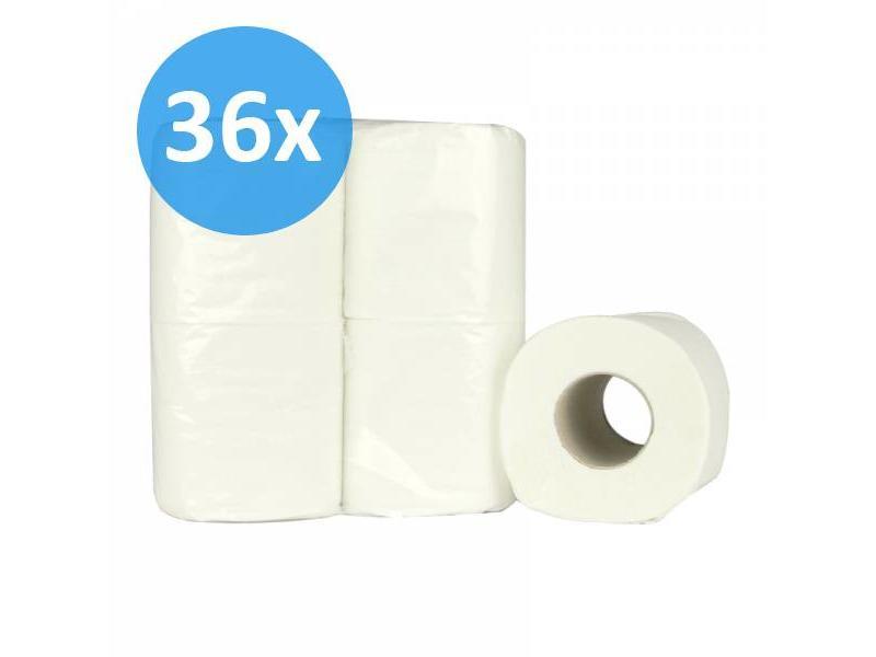 Eigen merk PALLET Toiletpapier traditioneel, 2-laags, recycled, 200 vel