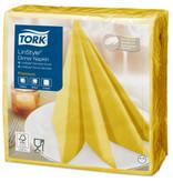 Tork Tork LinStyle® servet 39x39cm 1/4-vouw mustard 12x50