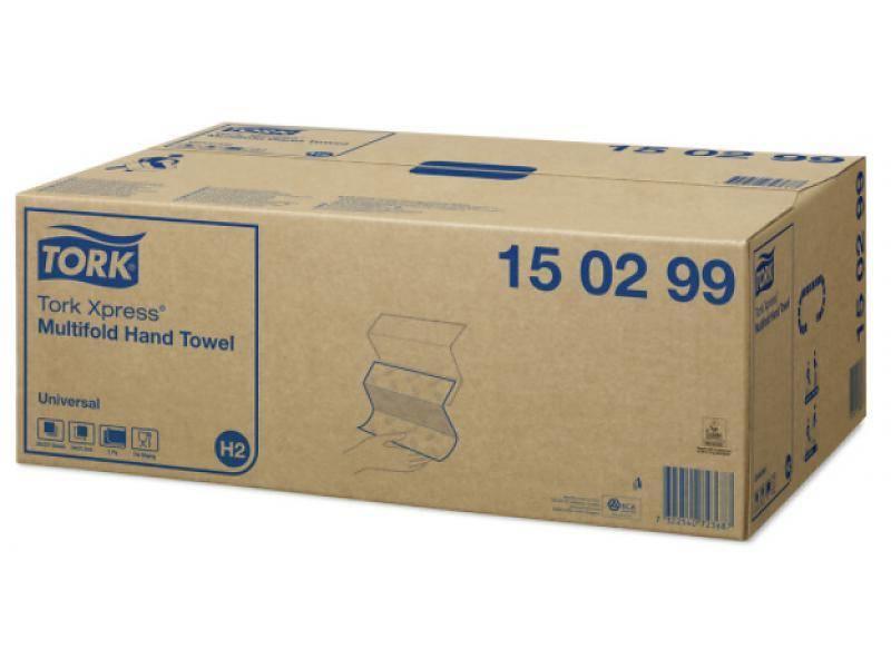 Tork Tork Xpress Multifold Handdoek 2-laags Wit H2