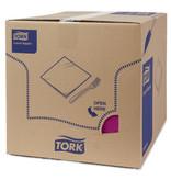 Tork Tork tissue servet 33x33cm 3-laags 1/4-vouw paars 10x150