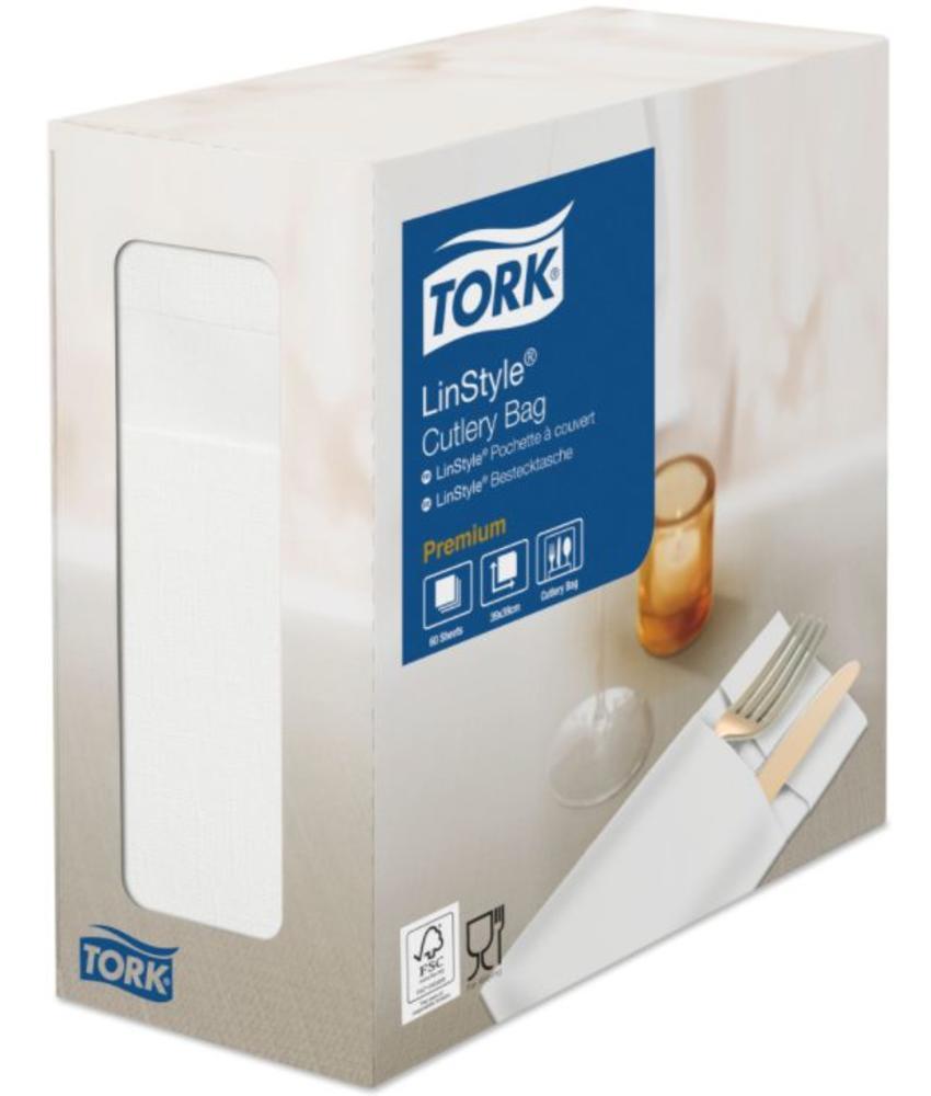 Tork LinStyle® Pochette 6x60 wit