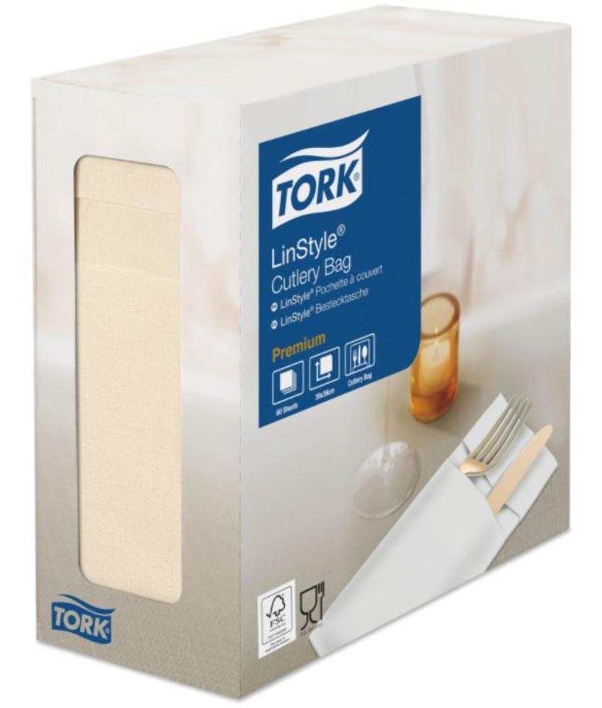 Tork LinStyle® Pochette 6x60 creme