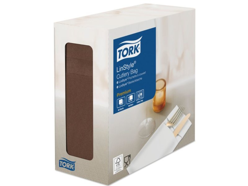 Tork Tork LinStyle® Pochette 6x60 cacao