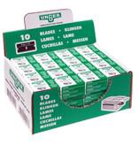 Unger Unger Mesjes voor veiligheidsschraper 4 cm - 10 mesjes in plastic box