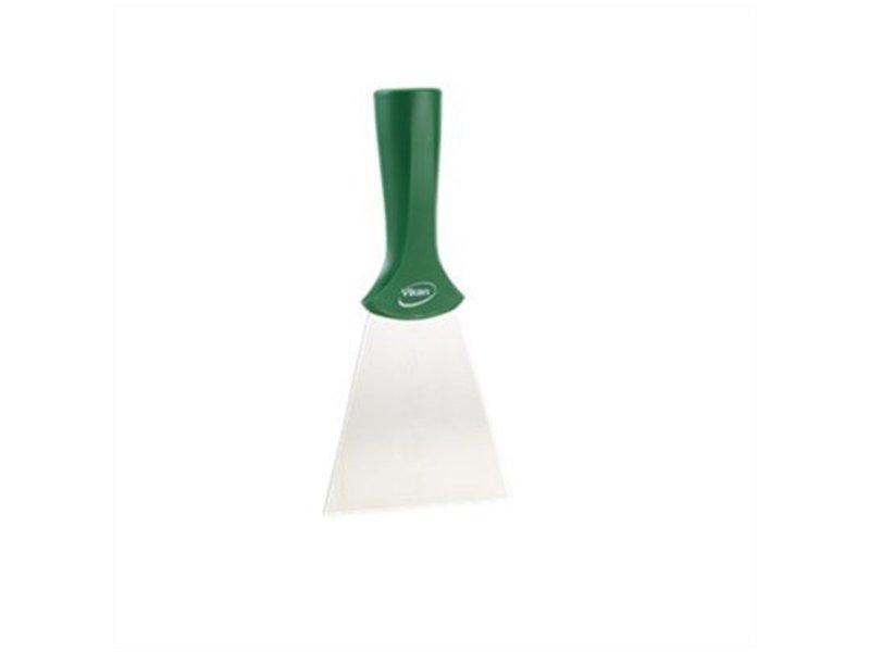 Vikan Vikan handschraper/schroefdraad 4011-2 groen, breed, rvs blad, 100x205mm /10