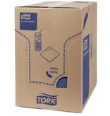 Tork Tork tissue servet 23x23cm 2-laags 1/4-vouw donkerblauw 10x300