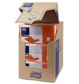 Tork Tork tissue servet 23x23cm 2-laags 1/4-vouw terracotta 10x300