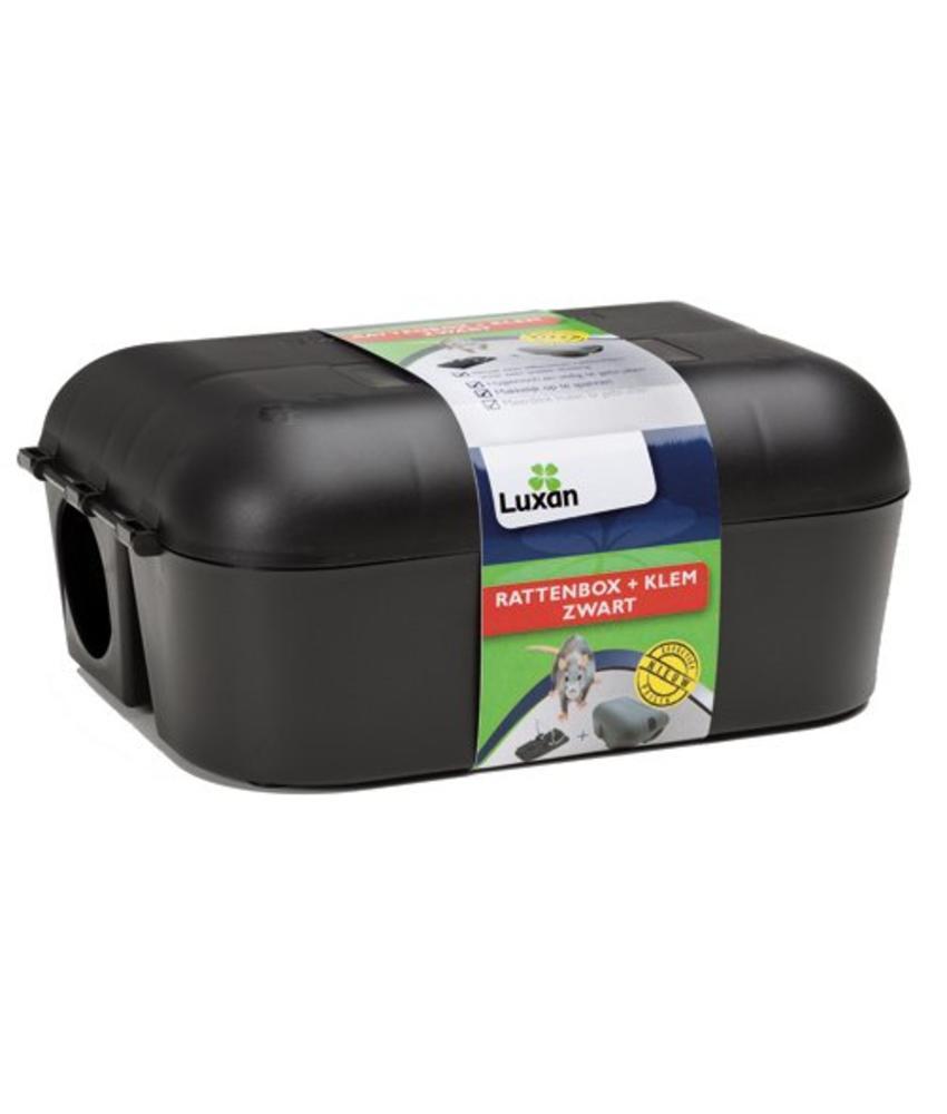 Rattenbox + Klem Zwart