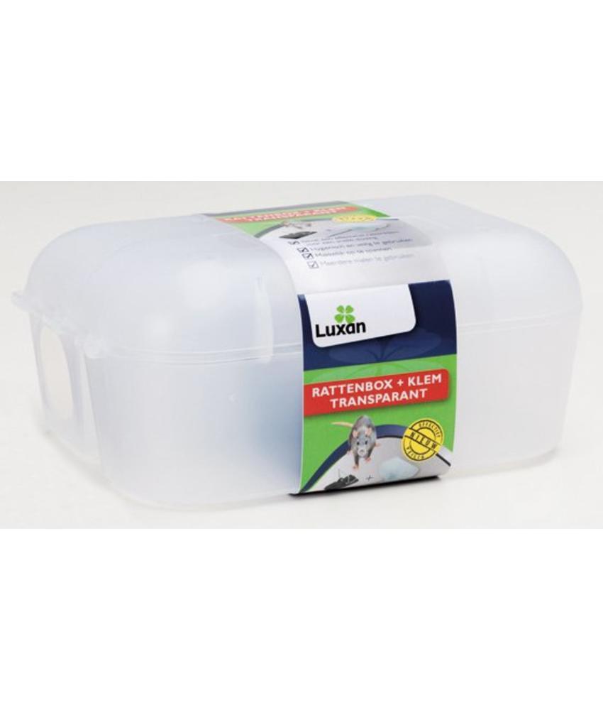 Luxan Rattenbox + Klem Transparant