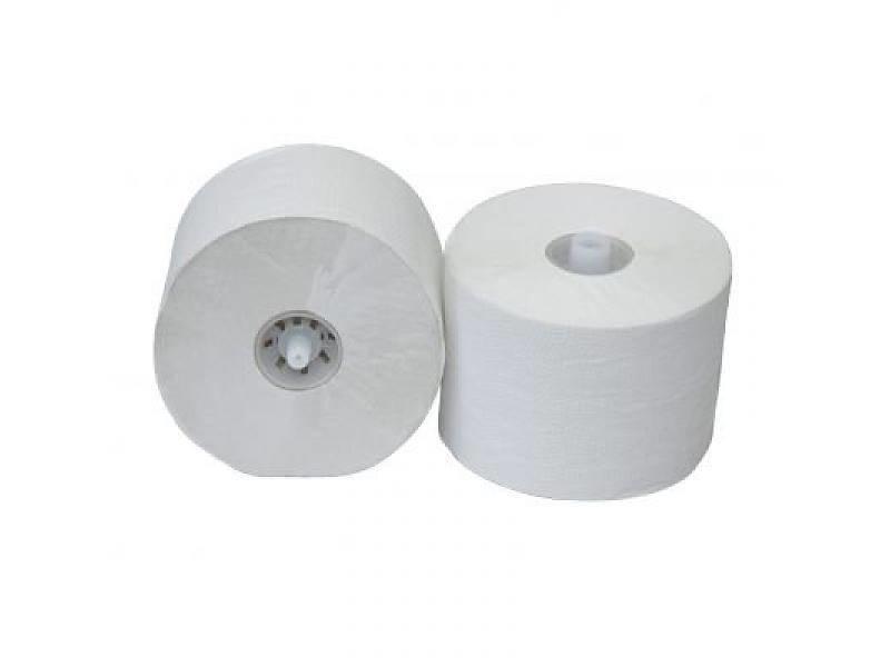 Eigen merk Toiletpapier Doprol, 36x 150M, 1-laags, luxe crêpe wit