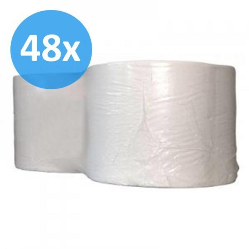 PALLET Industrierollen, 1000M, 24cm, 1-laags, cellulose, wit