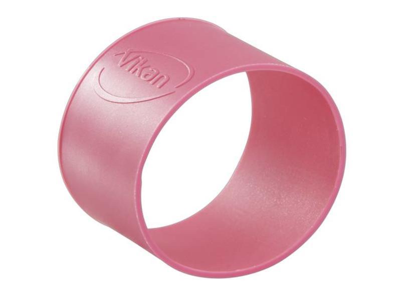 Vikan Vikan, Rubber ring 40mm, voor secundaire kleurcodering, roze