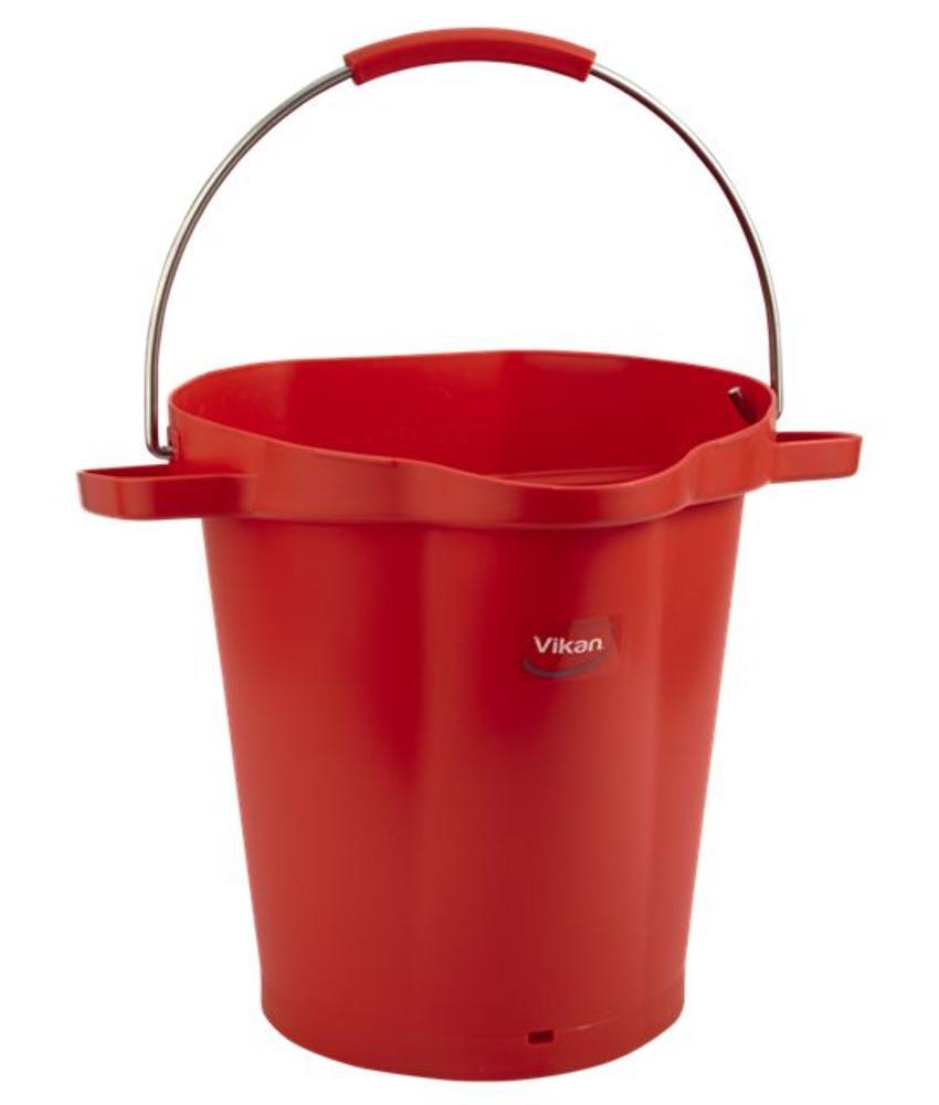 Vikan, Emmer 20 liter, rood
