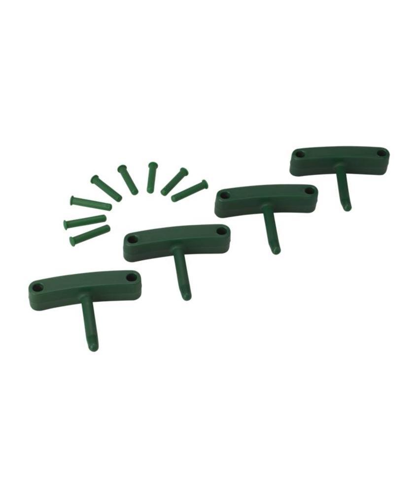 Vikan, Aanvulset haken voor full colour ophangsysteem, groen