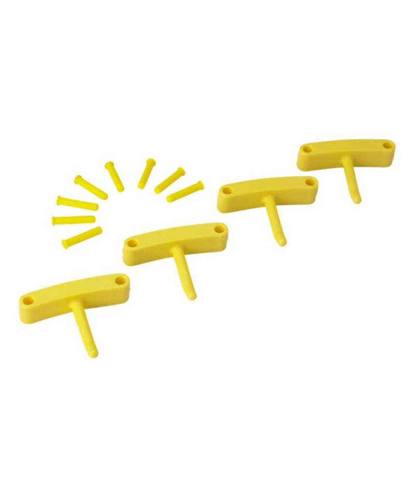 Vikan, Aanvulset haken voor full colour ophangsysteem, geel