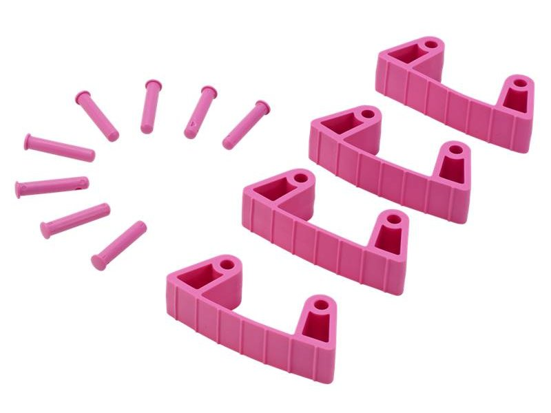 Vikan Vikan, Aanvulset klemmen voor full colour ophangsysteem, roze