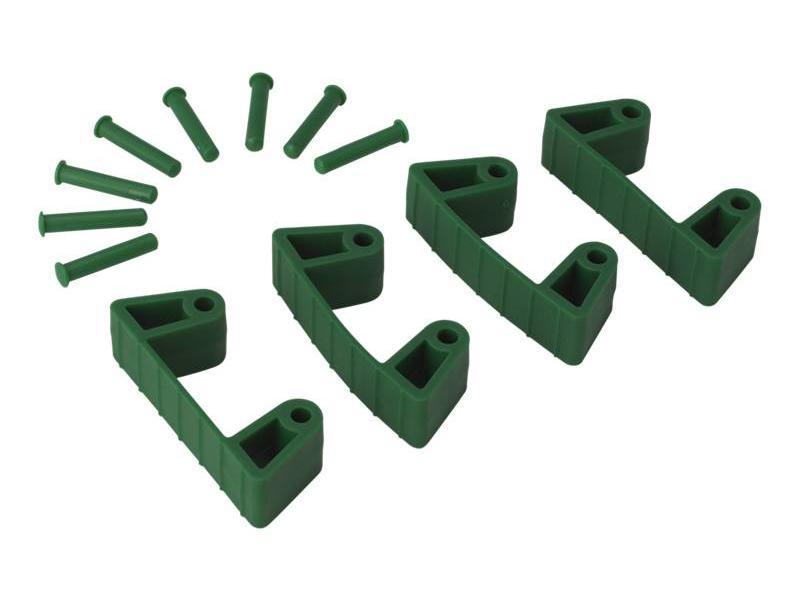 Vikan Vikan, Aanvulset klemmen voor full colour ophangsysteem, groen