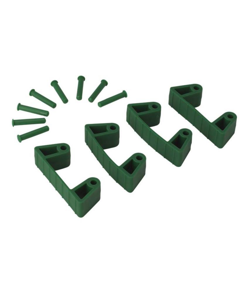 Vikan, Aanvulset klemmen voor full colour ophangsysteem, groen