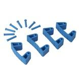 Vikan Vikan, Aanvulset klemmen voor full colour ophangsysteem, blauw