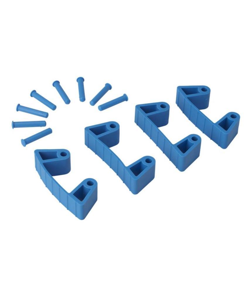 Vikan, Aanvulset klemmen voor full colour ophangsysteem, blauw