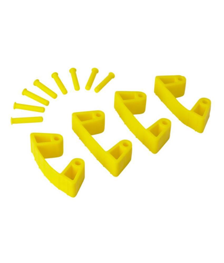 Vikan, Aanvulset klemmen voor full colour ophangsysteem, geel