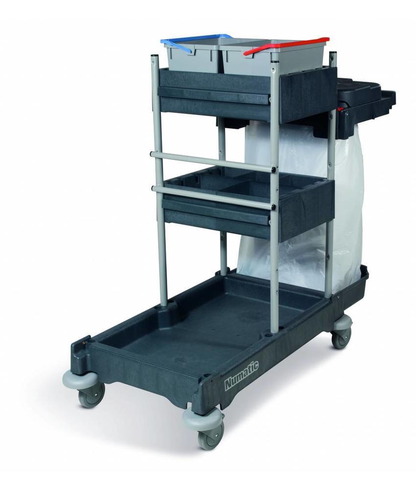Numatic Werkwagen SCG 1705 grijs