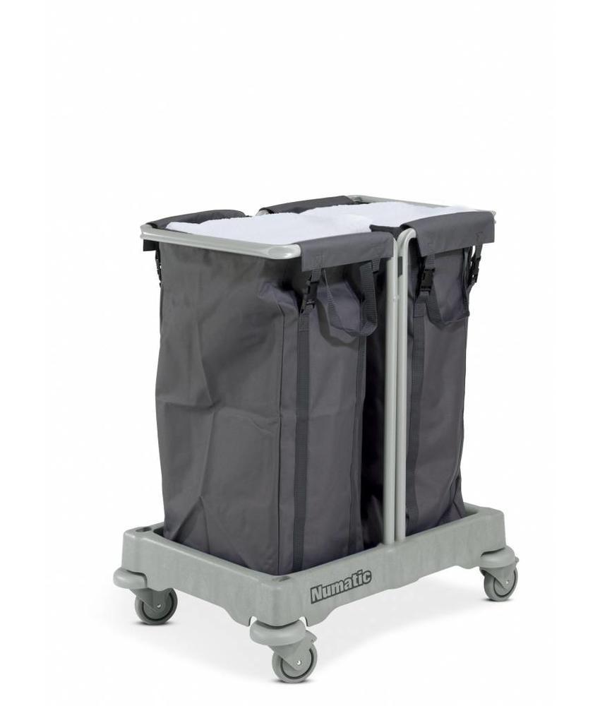 Numatic Wasgoedwagen NBT 200 grijs
