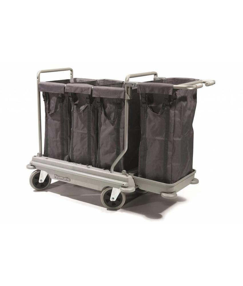 Numatic Wasgoedwagen NB 4004 grijs