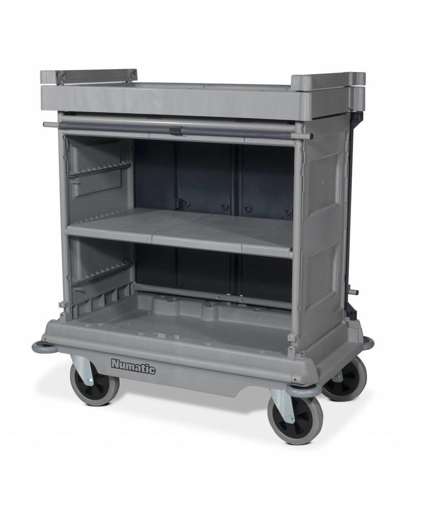 Numatic Hotelwagen NKU 30 FF grijs