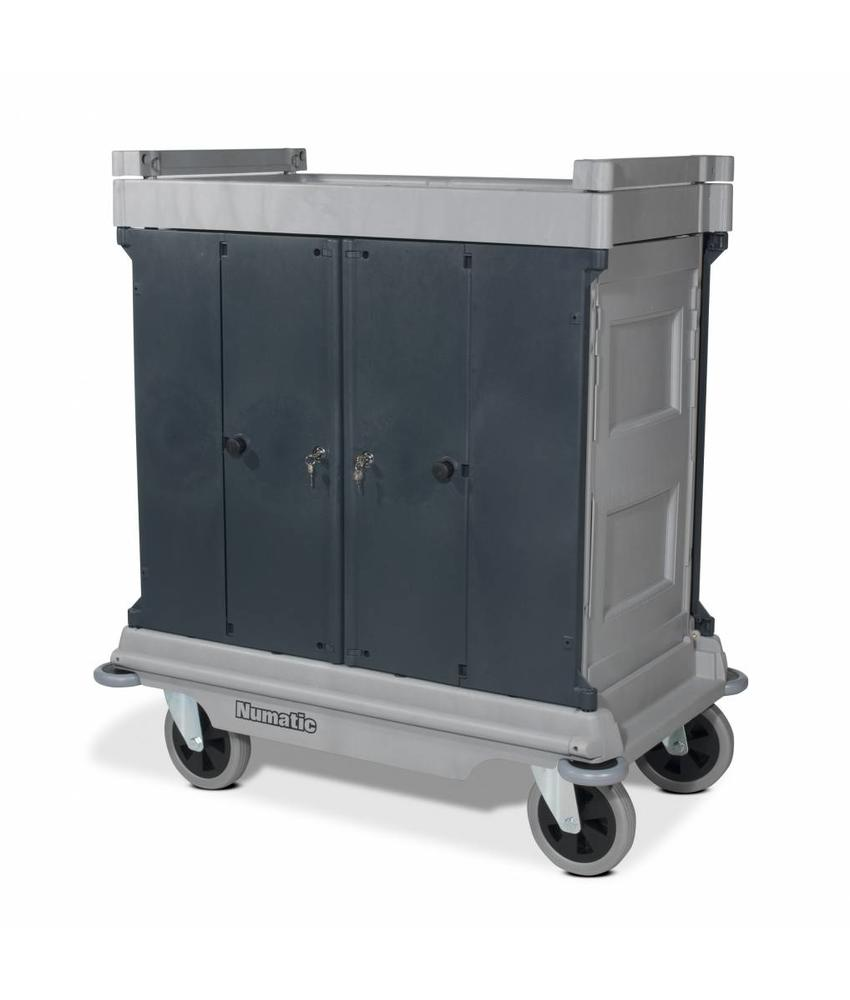 Numatic Hotelwagen NKU 30 HF grijs