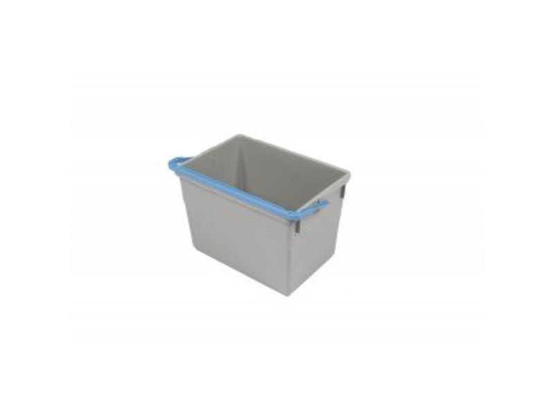 Numatic Numatic Grijze emmer 10 liter met blauwe hendel