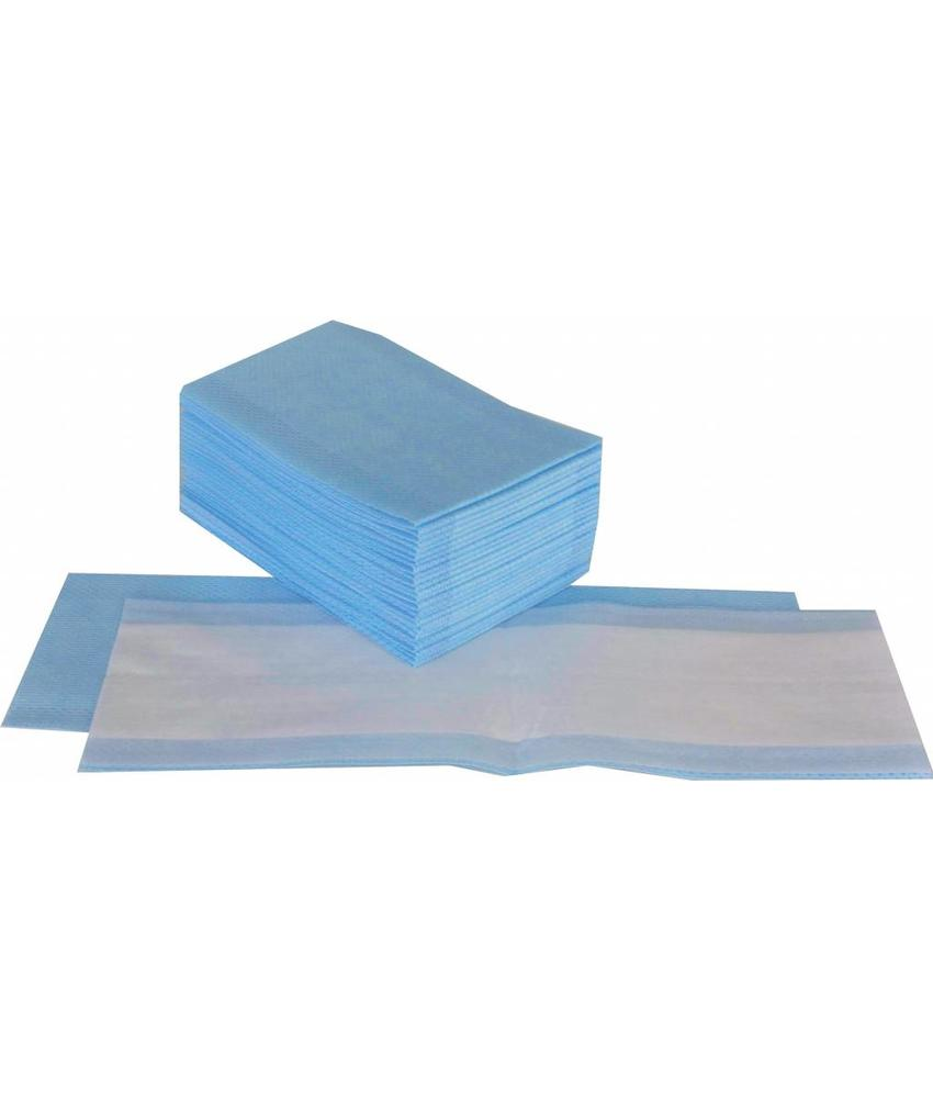 Numatic NuTech disposable vlakmop ultravezel interieur 25 x 13cm blauw (10x25st.)