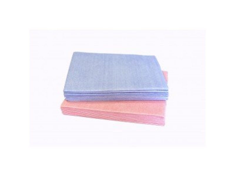 Numatic Numatic NuTech disposable reinigingsdoek microvezel 40x38cm blauw, 30x10st