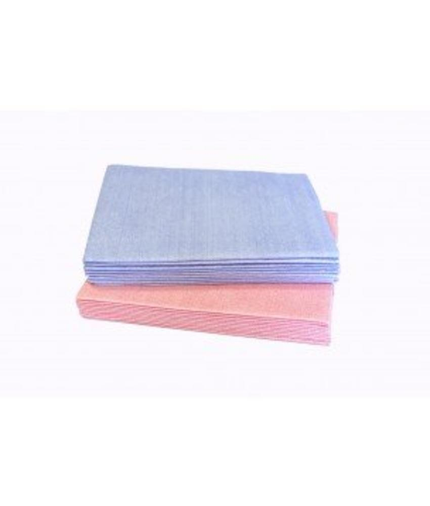 Numatic NuTech disposable reinigingsdoek microvezel 40x38cm rood, 30x10st