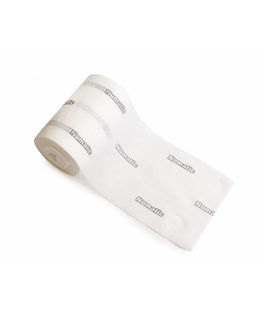 Numatic NuTech disposable stofwisdoek statisch 30cm, 8 rol a 150st
